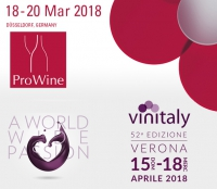 ProWein and Vinitaly 2018